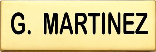 3 in. Smith & Warren Nameplate C717