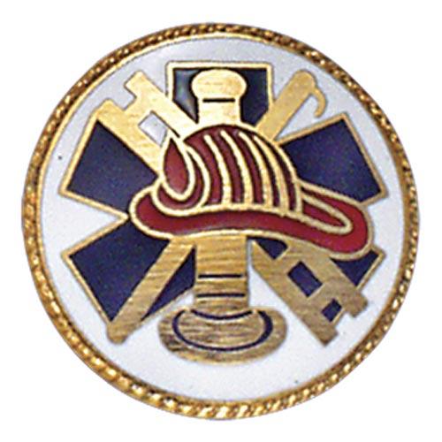 Fireman Hook & Ladder Center Seal
