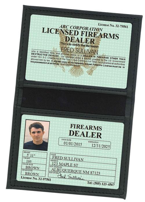 Firearms Dealer Classic Folio in Case