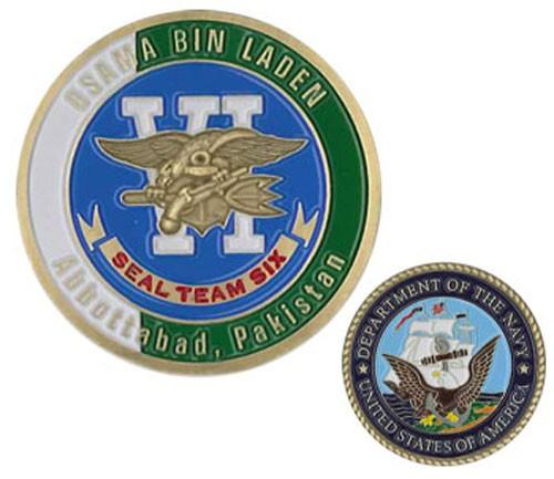 Seal Team 6 Osama Bin Laden Challenge Coin