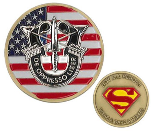 Special Forces Heroes Challenge Coin
