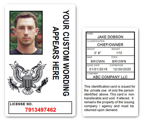Corporate PVC ID Style #10