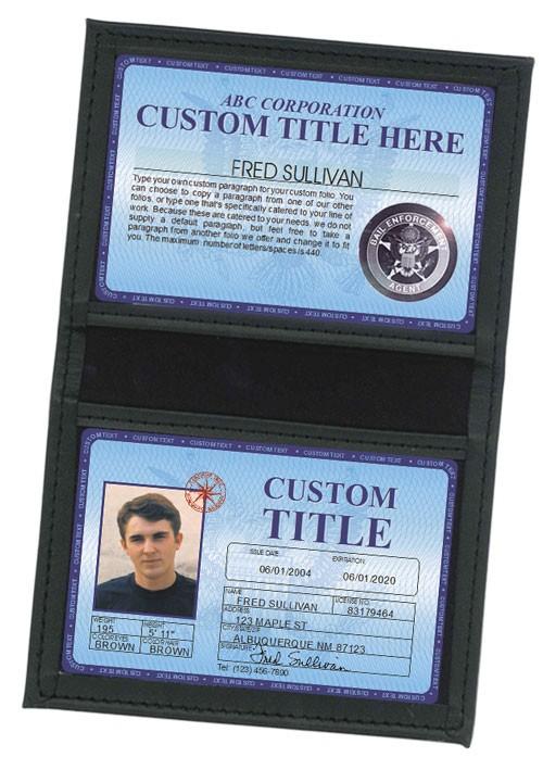 Custom Deluxe Folio in Case