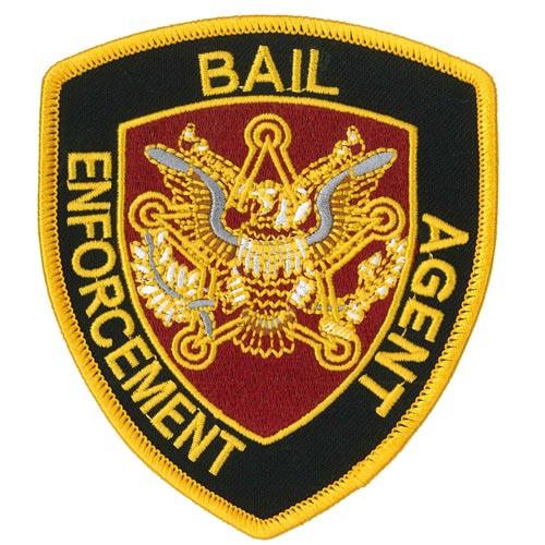 Eagle Bail Enforcement Agent Patch