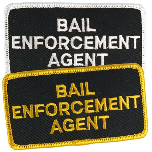 Bail Enforcement Agent Hat or Jacket Patch