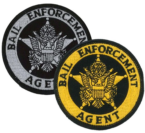 Bail Enforcement Agent Badge Patch