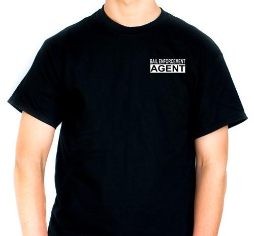Bail Enforcement T-Shirt (front view)