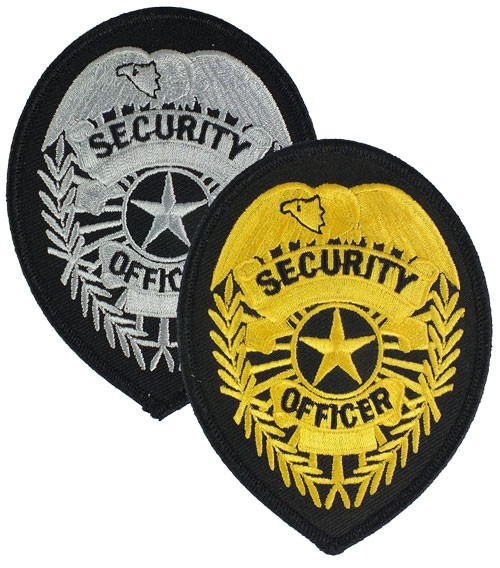 Security Officer Badge Patch