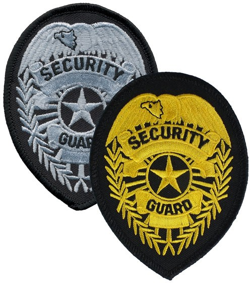 Security Guard Badge Patch