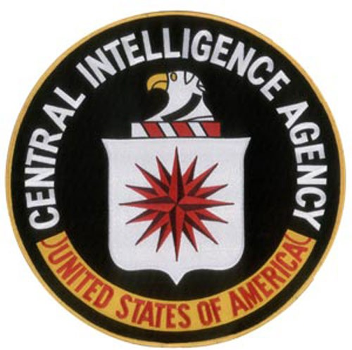 Large 12'' CIA patch