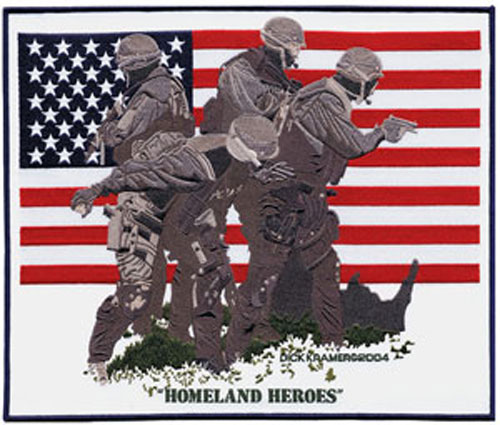 Homeland Heroes Tribute Patch