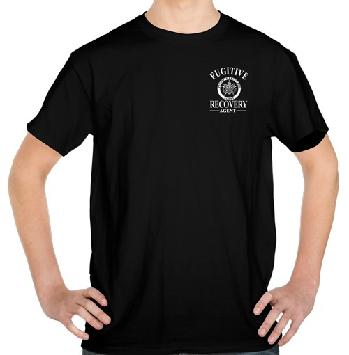 Fugitive Recovery Agent T-Shirt No.4 (front view)