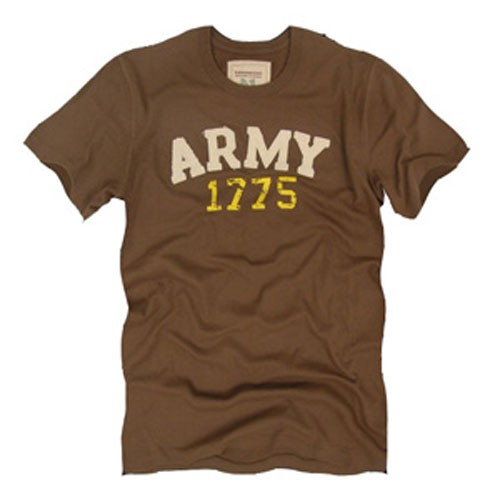 Army Classic Fit Brown Shirt