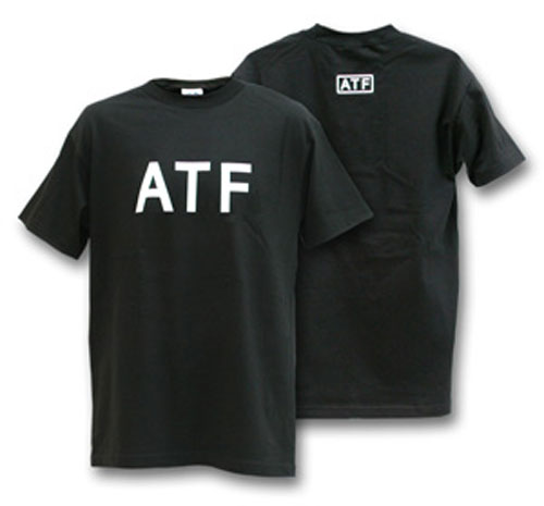 ATF Black T-Shirt