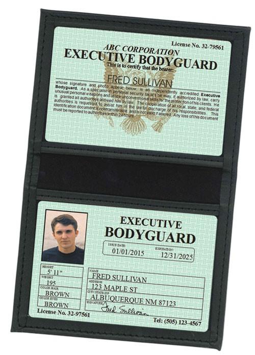 Executive Bodyguard Classic Folio in Case
