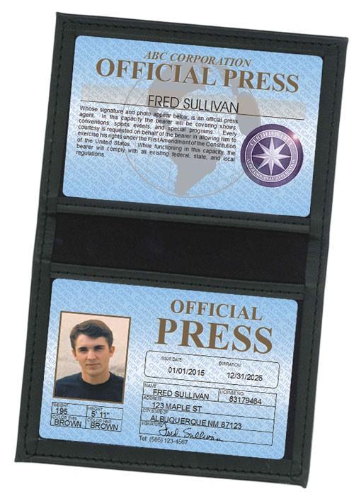 Press Standard Folio in Case