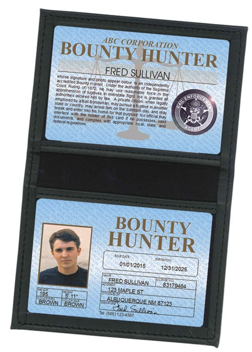 Bounty Hunter Standard Folio in Case