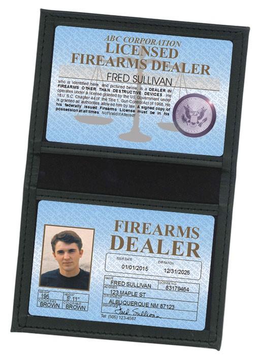 Firearms Dealer Standard Folio in Case