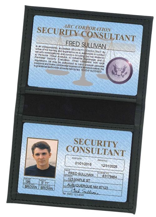 Security Consultant Standard Folio in Case