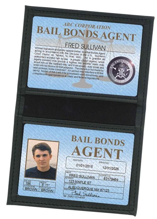 Bail Bonds Agent Standard Folio in Case