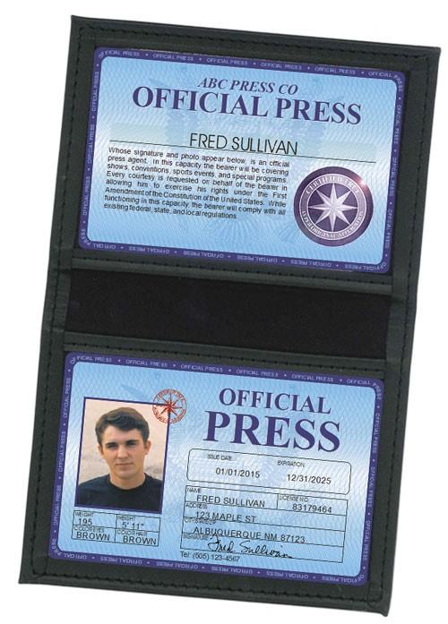 Press Deluxe Folio in Leather Case