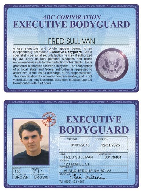 Executive Bodyguard Deluxe Folio