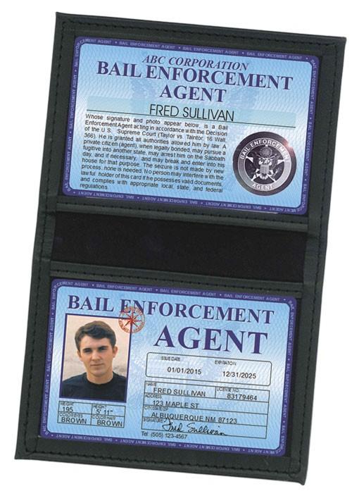 Bail Enforcement Agent Deluxe Folio in Case