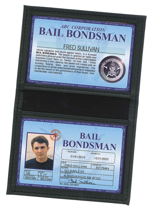 Bail Bondsman Deluxe Folio in Case