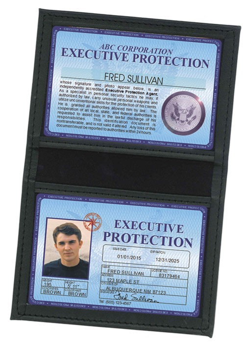 Executive Protection Deluxe Folio in Case