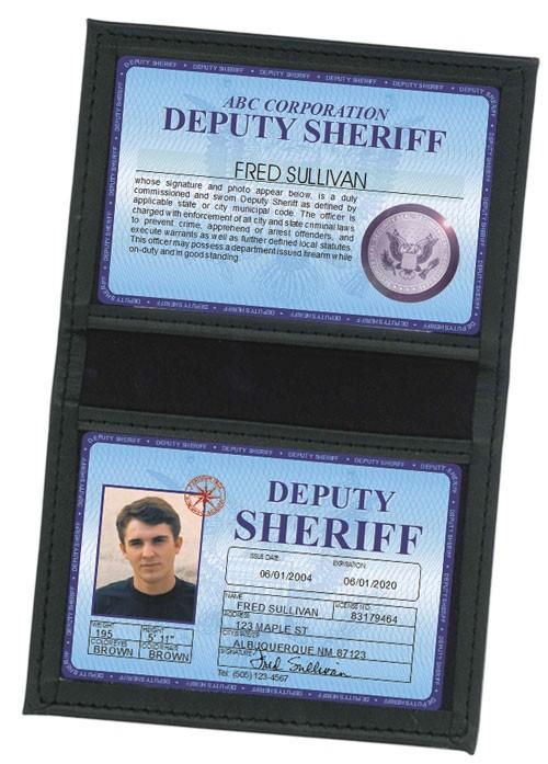 Deputy Sheriff Deluxe Folio in Case