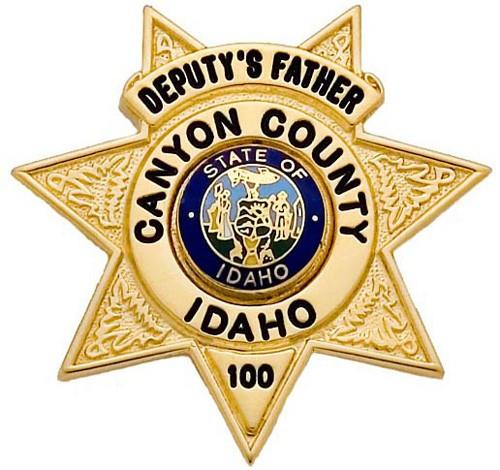 1 1/2 in. 7-Point Star Smith & Warren Family Badge FB09