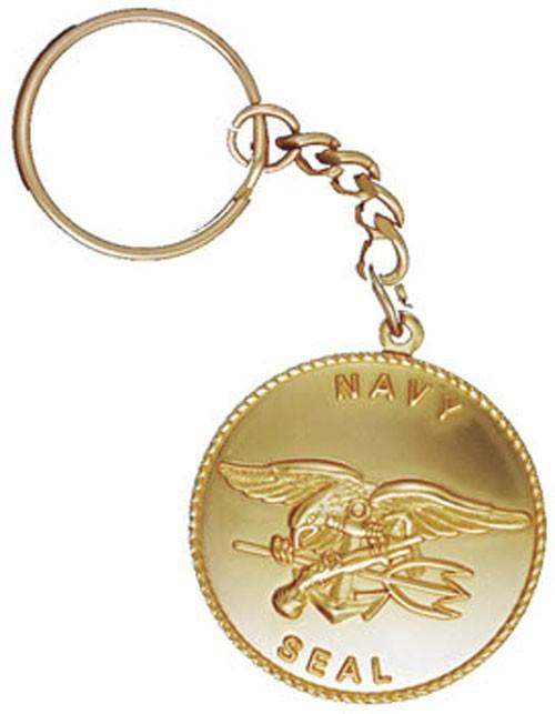 Seal Team Coin Key Chain