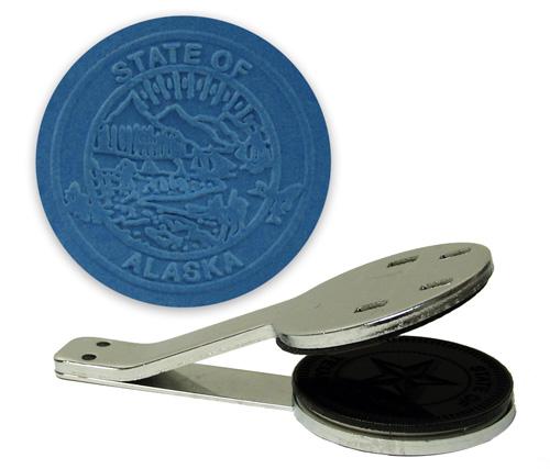 Alaska State Seal Embosser