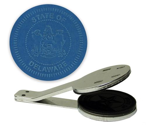 Delaware State Seal Embosser