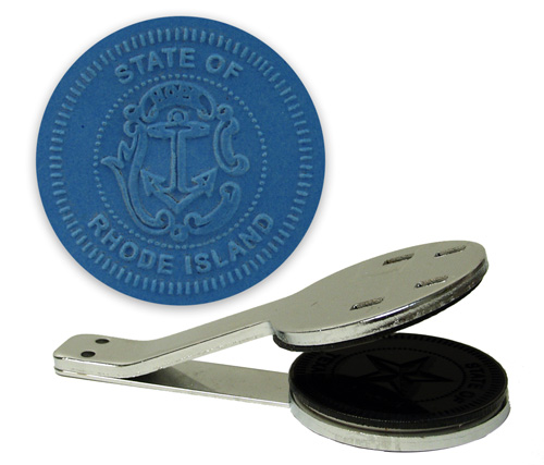 Rhode Island State Seal Embosser