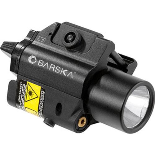 Green Laser with 200 Lumen Flashlight by Barska