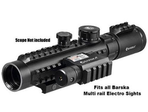 Green Laser w/Built-In Mount & Rail by Barska