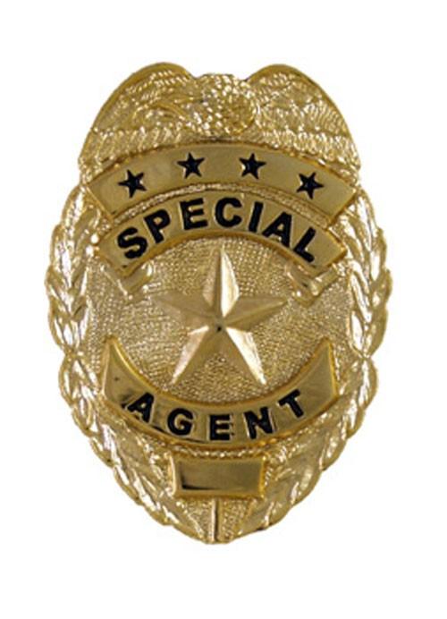 Mini Special Agent Badge