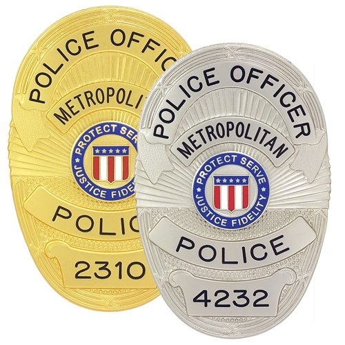 Metro Police Badge