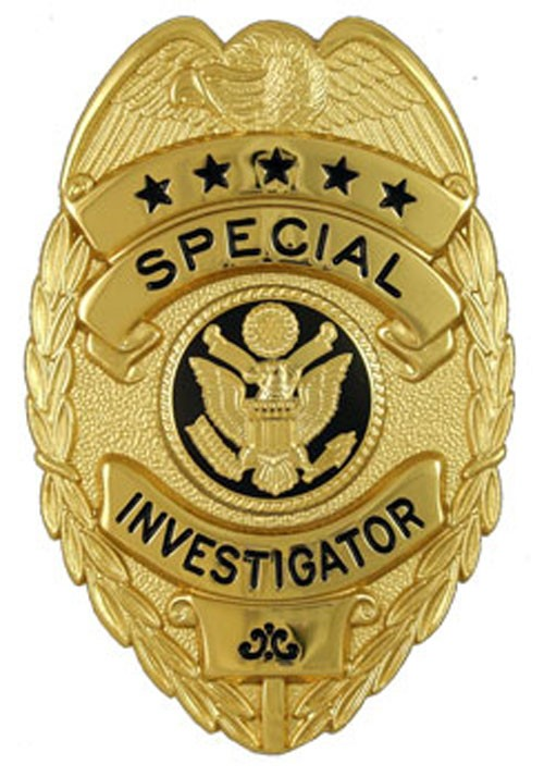 New Style Special Investigator Badge
