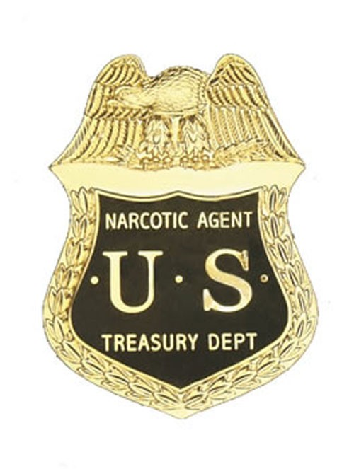 US Narcotic Agent Badge