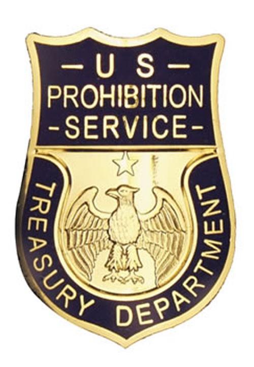 US Prohibition Badge