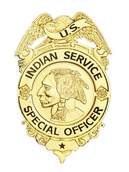 Indian Service Special Officer Badge