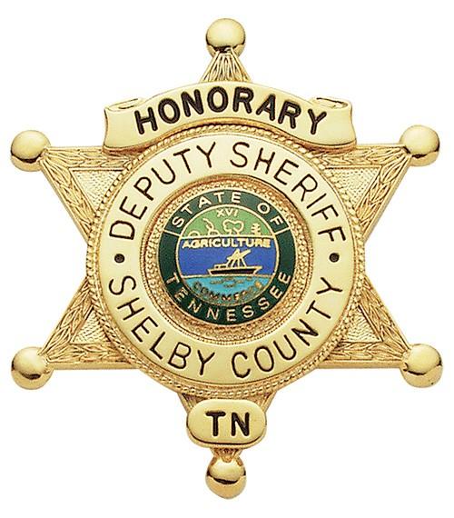 2.625 inch 6 Point Star Smith & Warren Sheriff Badge M384A