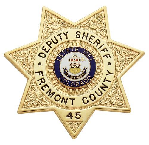 3 inch 7 Point Star Smith & Warren Sheriff Badge M399