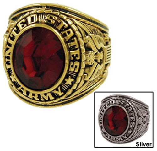 Men's Army Military Ring
