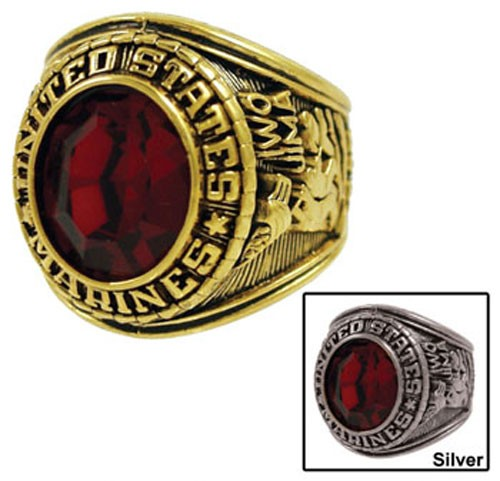 Men's Marines Military Ring