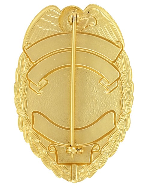 Registered Executive Bodyguard Badge back view