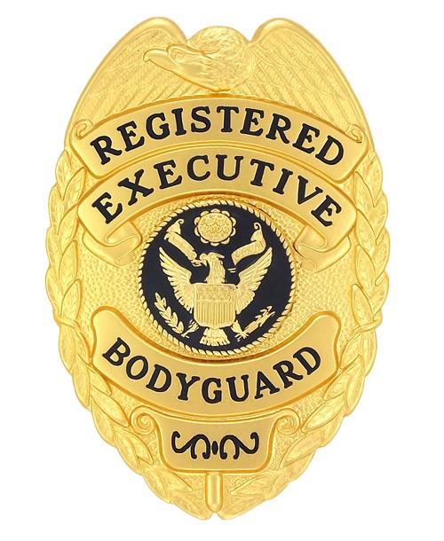 Registered Executive Bodyguard Badge