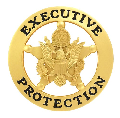 Marshal Style Executive Protection Badge